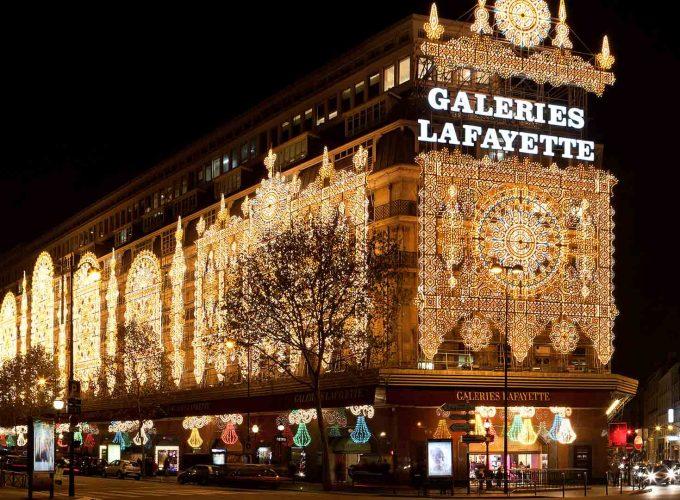 ห้างลาฟาแยตต์ หรือ แกลเลอรี่ ลาฟาแยตต์ Galleries Lafayette