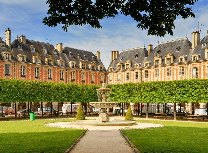 ปารีสเมืองเก่าแห่งย่านเลอ มาเรส์(Le Marais)