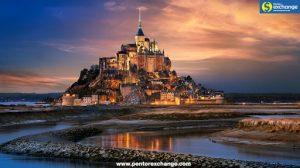 เยี่ยมชมวิหาร Mont Saint Michel