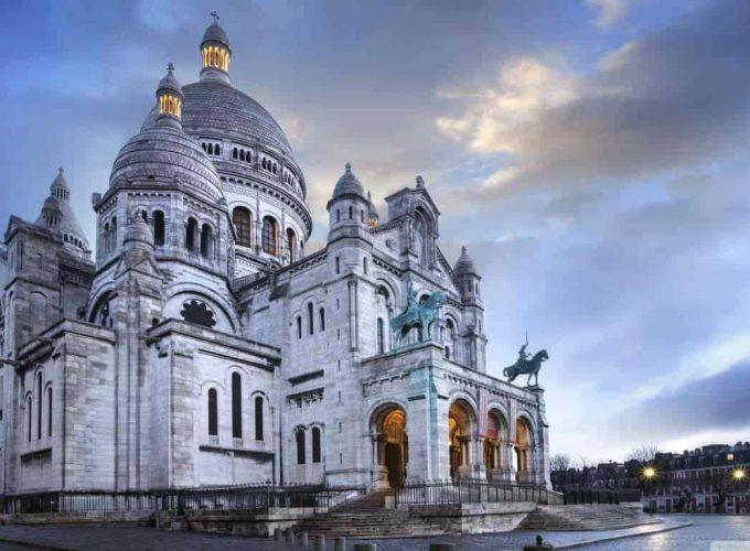 เที่ยวปารีส ซาเคร-เกอร์ บาซิลิก้า (The Basilica of the Sacred Heart of Paris)