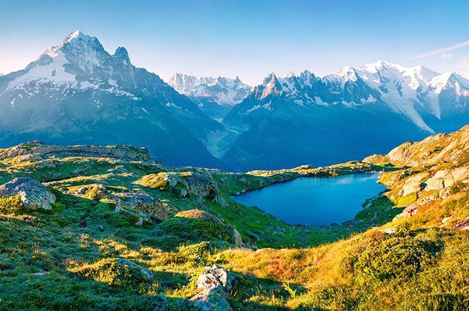 เที่ยว เทือกเขามงบล็อง (Mont Blanc) ปารีส