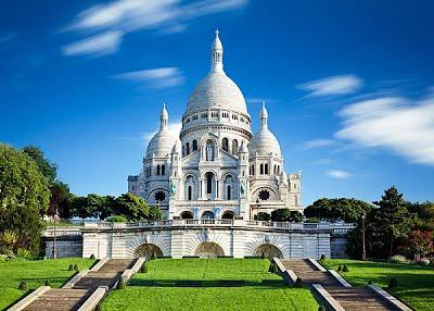 เที่ยว ซาเคร-เกอร์ บาซิลิก้า (The Basilica of the Sacred Heart of  Paris)