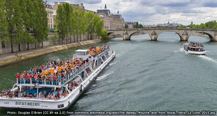 การเดินทางท่องเที่ยวในปารีส