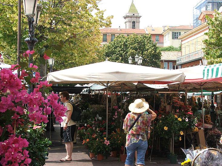 ตลาดกูร์ ซาลียา (Cours Saleya)