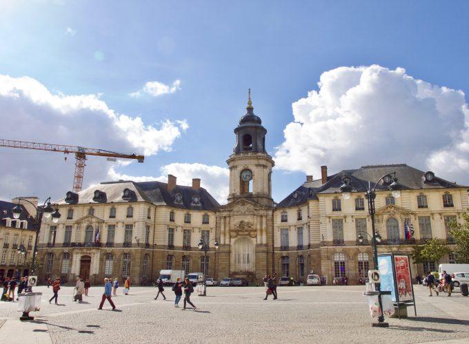 แรนส์เมืองคลาสสิคในฝรั่งเศส